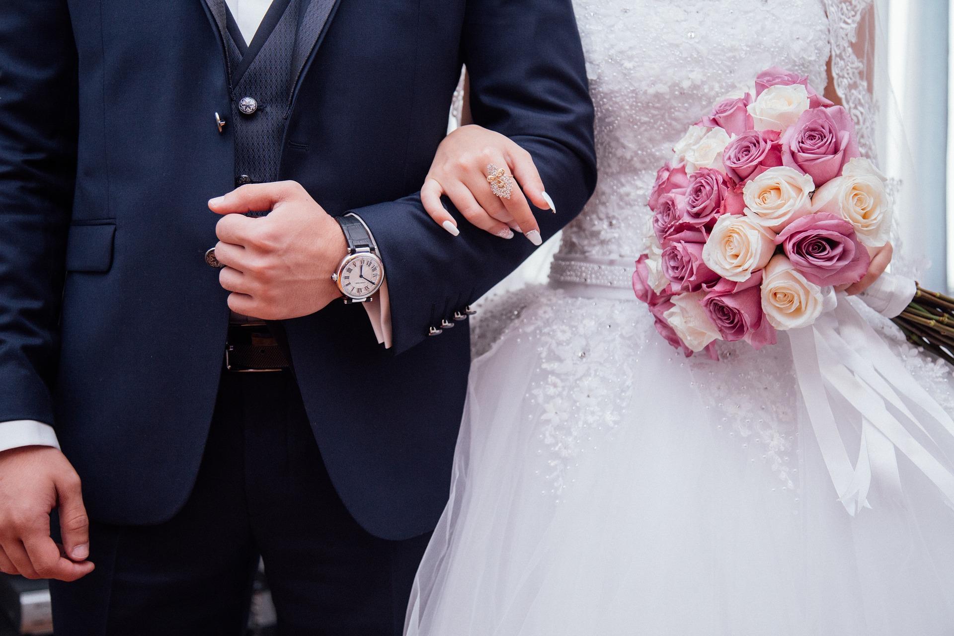Hochzeitspaar Standesamt