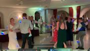 Hochzeitsfeier im Salon Taube im Schlosshotel Wassschloss Chemnitz